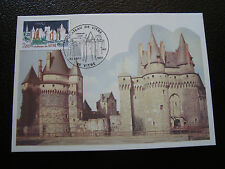 FRANCE - carte 1er jour 24/9/1977 (chateau de vitre) (cy39) french
