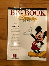 The Big Book of Disney Songs : Flute (2012, Paperback) 72 Songs