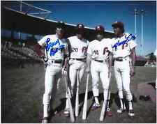 "Larry Bowa, Manny Trillo Autographed Phila. Phillies 8"" x 10"" Photo w/COA Cert."