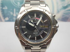 SEIKO KINETIC SQ100 DAY/DATE MEN'S WATCH 5M43-0B90