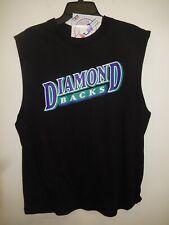 """0414 MENS Majestic ARIZONA DIAMONDBACKS """"Sleeveless"""" Baseball Jersey Shirt New"""