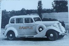 "1935 ""653"" Auburn 4 Door Sedan 12 X 8 Black & White Picture"