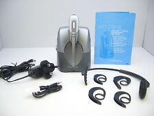 Plantronics CS60 Cordless DECT Headset System with headband UK AC Charger Bundle