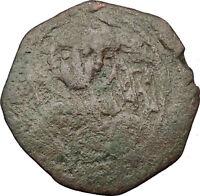 Manuel I , Comnenus 1143AD Ancient Medieval Byzantine Coin Saint George i32281