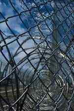 703044 Razor Wire Prison A4 Photo Texture Print