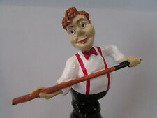 Snooker Spieler, Novelty Weinflaschen Verschluss, Geschenkverpackung Verschluss