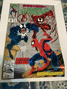 Amazing Spider-Man #362, 2nd Print, (Marvel Comics 1992) BENT SEE PICTURES