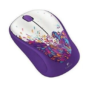 Logitech M317c Wireless Mouse (Exuberance) w/unifying receiver PC Mac
