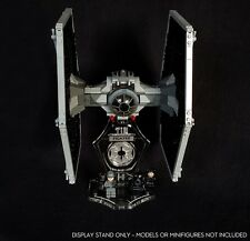 Display stand 3D + slots for Lego 9492-75211 Tie Fighter (Star Wars)