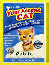 Your Adopted Cat ~ New DVD Movie ~ Pet Training Sealed Video