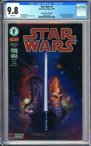 Star Wars #1 CGC 9.8 3802371005 Prelude to Rebellion! Another Universe Holofoil