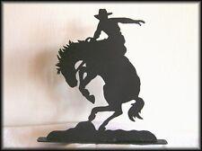 SADDLE BRONC Western Horse Metal Art Silhouettes!