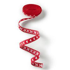 Prym CENEFA CON CORAZÓN, 10mm, rojo / blanco para ropa de niño, Camisetas 916543