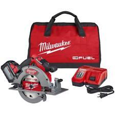 Milwaukee Circular Saw Kit Brushless Cordless Li-Ion M18 Fuel 18Volt 7-1/4 in.
