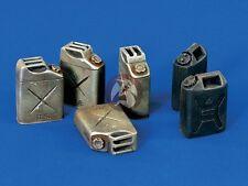 Verlinden 120mm (1/16) US Jerrycans WWII / Modern (6 pieces) [Resin Diorama] 847