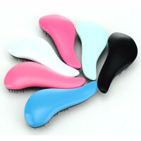 Hair Brush Comb Salon Styling Magic Detangling Handle Tangle Hairbrush Tamer New