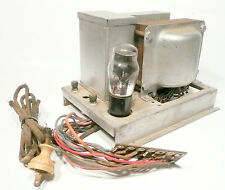vintage* SILVERTONE HI-BOY RADIO part:  matching POWER SUPPLY for  #39 CHASSIS