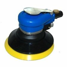 """Tcp Global Brand 6"""" Dual Action D.A. Sander With Pad, Air Powered, (1/4""""Npt)"""