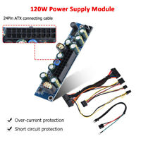 DC 12V 120W ATX Switch PSU Power Supply with Cable For HTPC Car Auto MINI ITX 🔥