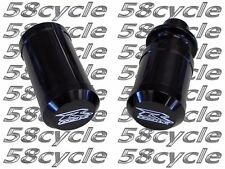 2004-2005 GSXR 600 750 Limited Edition BLACK Frame Sliders Logo Suzuki
