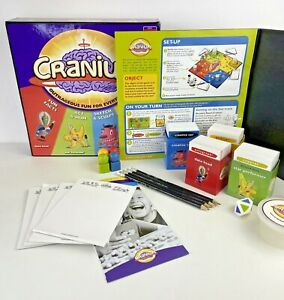 Hasbro, Cranium Family Kids & Adults Drawing Creative Board Game, Complete, GC.