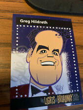 The Lights of Broadway Cards ~ Greg  Hildreth (Signed) ~ Autumn 2017