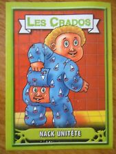 Image * Les CRADOS 3 N°121 * 2004 album card Sticker FRANCE Garbage Pail Kid