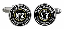 Jack Daniels Old No. 7 Whiskey Enamel Metal Cufflinks