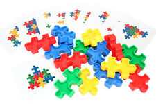 Montessori - Puzzle Block Pattern Busy Bag Block Toy for children OT Fine Motor