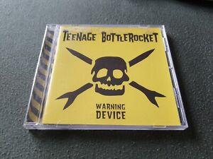 Teenage Bottlerocket - Warning Device * CD * Punkrock * Masked Intruder *