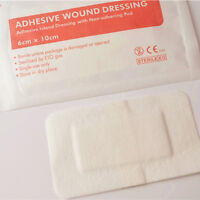 10pcs on-woven Medical Adhesive Wound Dressing Large Band Aid Bandage Care New.