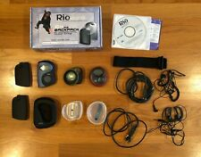 Lot (3) Rio Digital Media Mp3 Players: Cali, S30s Sport, 600 Backpack - As Is