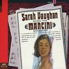 Sarah Vaughan - Sings the Mancini Songbook (CD, 1998, Verve By Request)