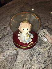 Precious Moments Angel Trumpet Night Light Figurine Enesco 1998 Retired Mint