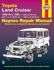 1968-1982 Land Cruiser FJ40 FJ43 FJ45 FJ55 Repair Service Shop Manual Book 0239