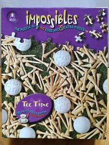 BePuzzled Impossibles Jigsaw Puzzle 750 + 5 Extra Pieces & Hidden Images TeeTime