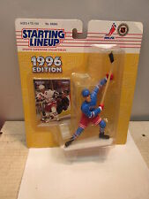 1996 MARK MESSIER NEW YORK RANGERS STARTING LINEUP