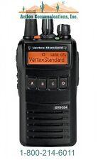 NEW VERTEX/STANDARD EVX-534 ENHANCED DISPLAY, VHF 134-174 MHZ, 5 WATT, 512 CH