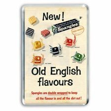 SS03 VINTAGE SPANGLES SWEETS ADVERTISING A3 POSTER PRINT