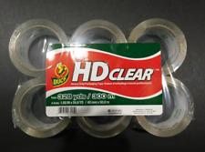 Duck Hd 6 Rolls Heavy Duty Packing Tape Refill 188 Inch X 546 Yard Clear