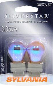 Sylvania Silverstar 3057AST BP Amber Brake Light - Pair Bulk Packaged