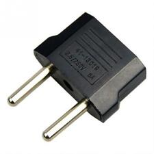 US to EU Plug AC Power Wall Charger Plug 2-pin Socket Travel Adapter Converter
