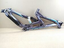 "Scott Gambler 26"" DH Downhill Freeride Bike Frame - Blue Violet Purple USED 083"