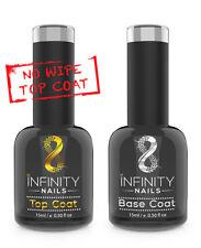 INFINITY CHIODI ALTEZZA E BASE COAT-Smalto Gel Unghie-UV/LED-nessuna pulizia Top 15ml