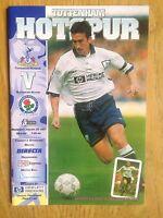 Tottenham Hotspur v Blackburn Rovers 1996/97 programme