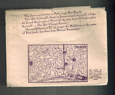 1931 Paris France Boyer Perfume Advertising Cover to USA via SS HR de France Shi