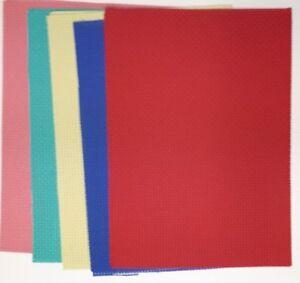 "Binka sheets for Cross Stitch beginners 5"" x 7"", 10"" x 7"", or 14"" x 10"""