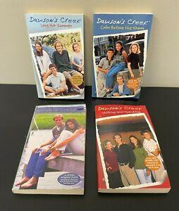Lot of 4 Dawson's Creek paperback novel books - 1990s - Pacey Joey Jen Dawson
