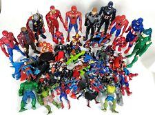 Huge Lot of 50+ Super hero Action Figures Marvel Legends Mixed Toy Spider-Man