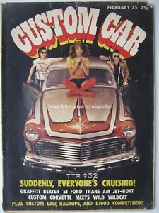 Custom Car February 1975 Ford Victoria Standard 8 Toyota 1000 Marina V8 Pick-Up